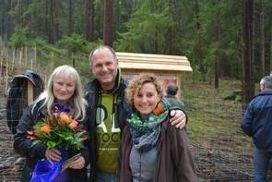 Christine Blank mit Dr. Wagner und Frau Wagner aus Hersbruck
